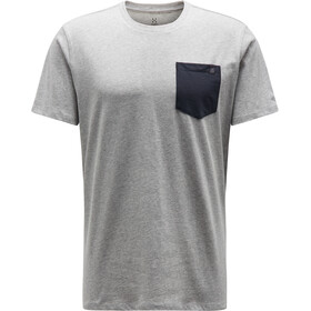 Haglöfs Mirth T-shirt Heren, grey melange/slate